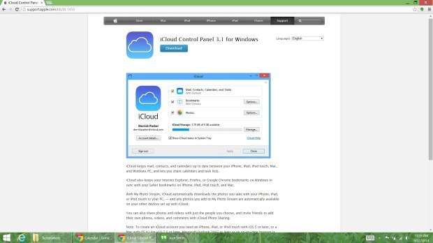 Prepare for iPhone 6 with iCloud for Windows (1)