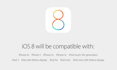The iOS 8 release date is confirmed for September 17th.