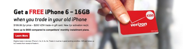 A free iPhone 6 deal has emerged ahead of the iPhone 6 release date.