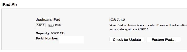 Special click Check for Upgrade.