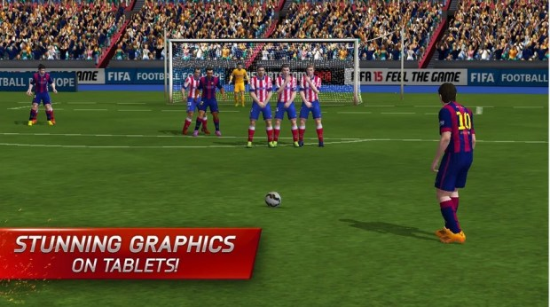 The mobile FIFA 15 release date is here with Ultimate Team play on the go.
