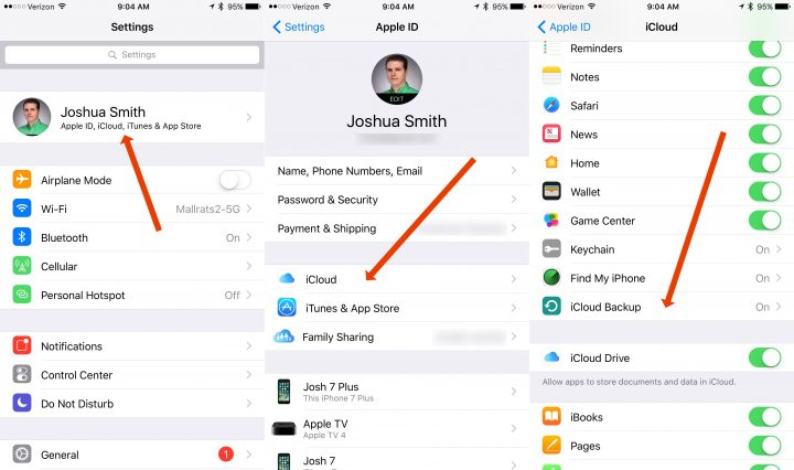 How to stop a stuck iCloud restore.