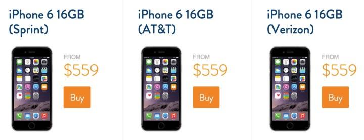 Save big on Gazelle Certified iPhone 6 models.