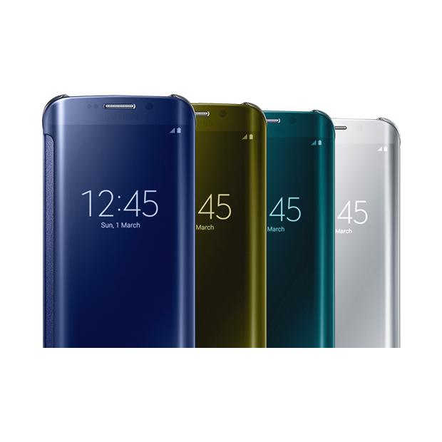 Samsung Clear View Galaxy S6 Edge Case