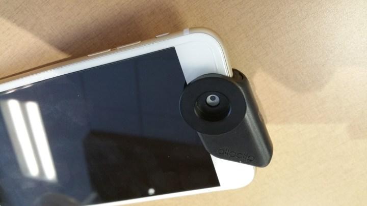 circular polarizer mount on an iPhone 6 Plus