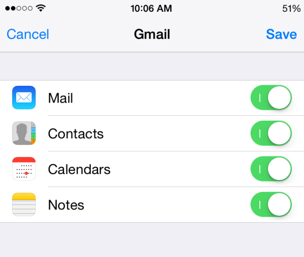 How to add an email address on iphone 7