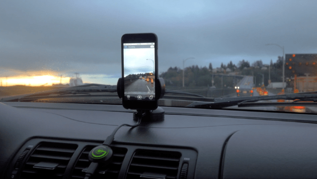 Use an old phone as a Dash Cam