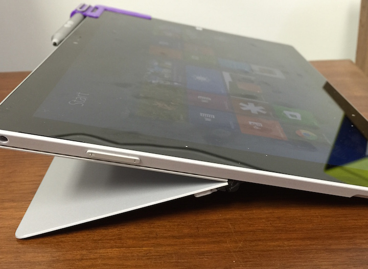 surface pro 3 lower angle kickstand