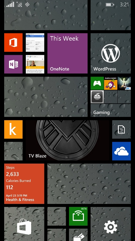 With Windows Phone 8.1 Microsoft added the ability for Windows Phone users  to assign a background that appears inside their Live Tiles. The best way  to see ...