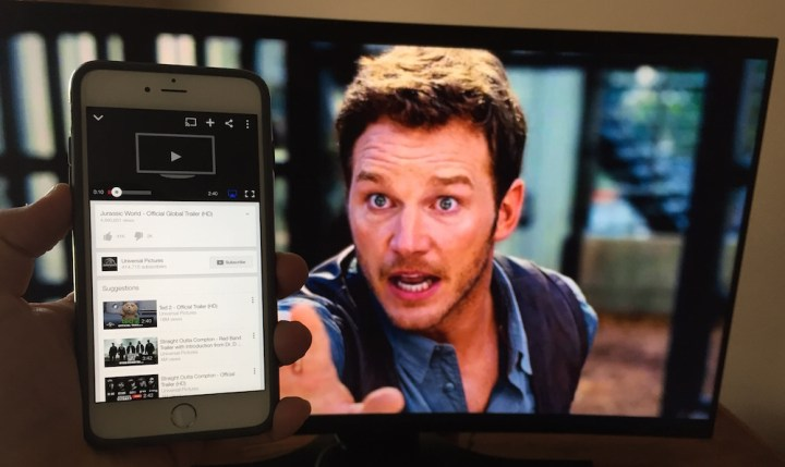 Use AirPlay to Watch YouTube on the Apple TV after April 20, 2015.