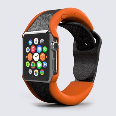 You can buy an Apple Watch band with a battery in it.