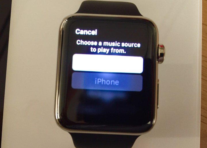 Control where the music plays right from your Apple Watch.