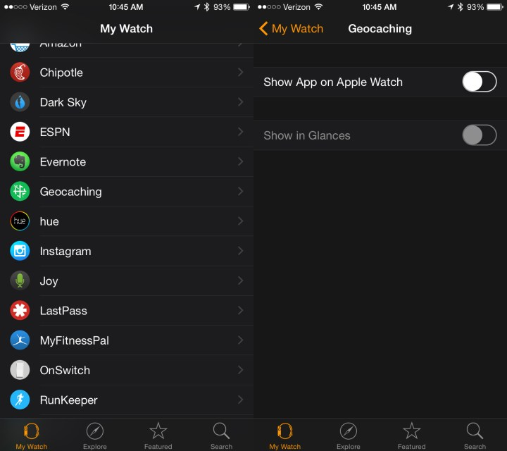 You can try uninstalling apps if the Apple Watch performance is sluggish.