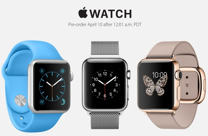 Here's the Apple Watch pre-order start time and important details.