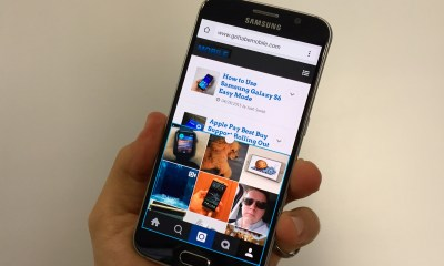 Learn how to use the Galaxy S6 multitasking feature to run two apps on screen at the same time.