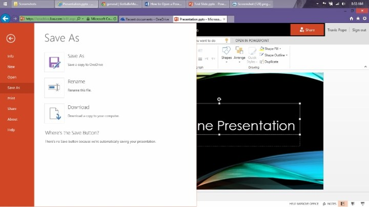 How to Open a Power Point Presentation Online (5)