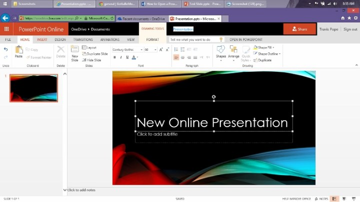 How to Open a Power Point Presentation Online (6)