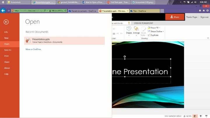 How to Open a Power Point Presentation Online (9)