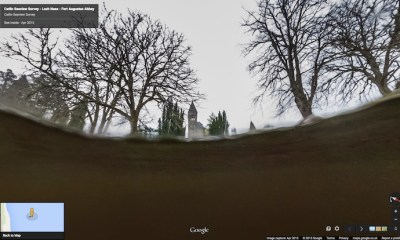 Use Google Maps to search for the Loch Ness Monster from your phone.