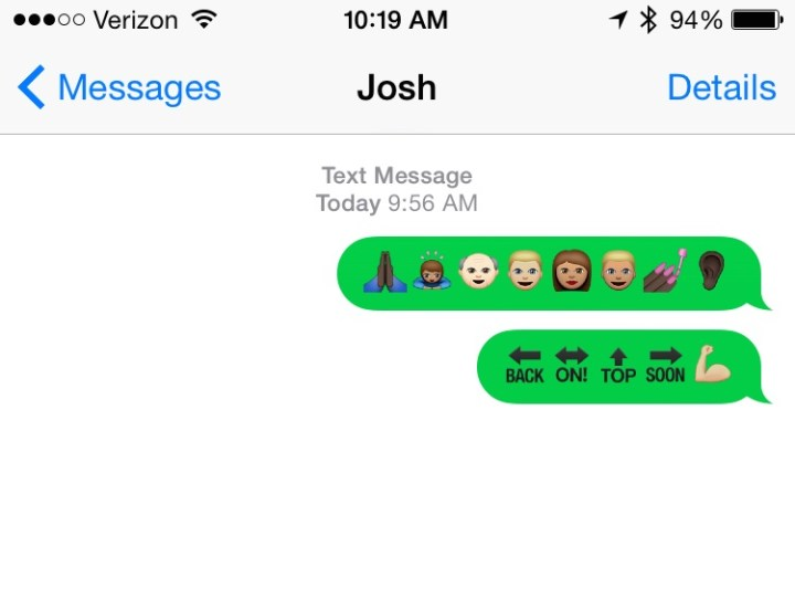 Here's how to use the new emojis for iPhone and iPad in the iOS 8.3 update.