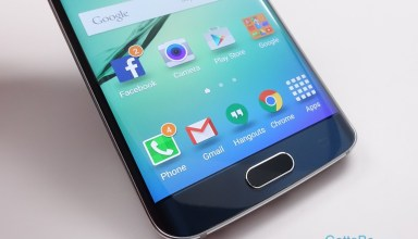 In addition to new software there is an improved fingerprint sensor to unlock the Galaxy S6 Edge.