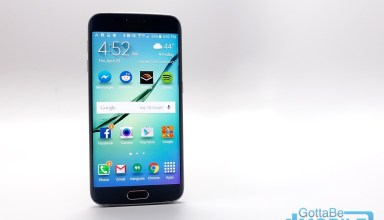 The curved Galaxy S6 Edge display looks cool and adds a few features.