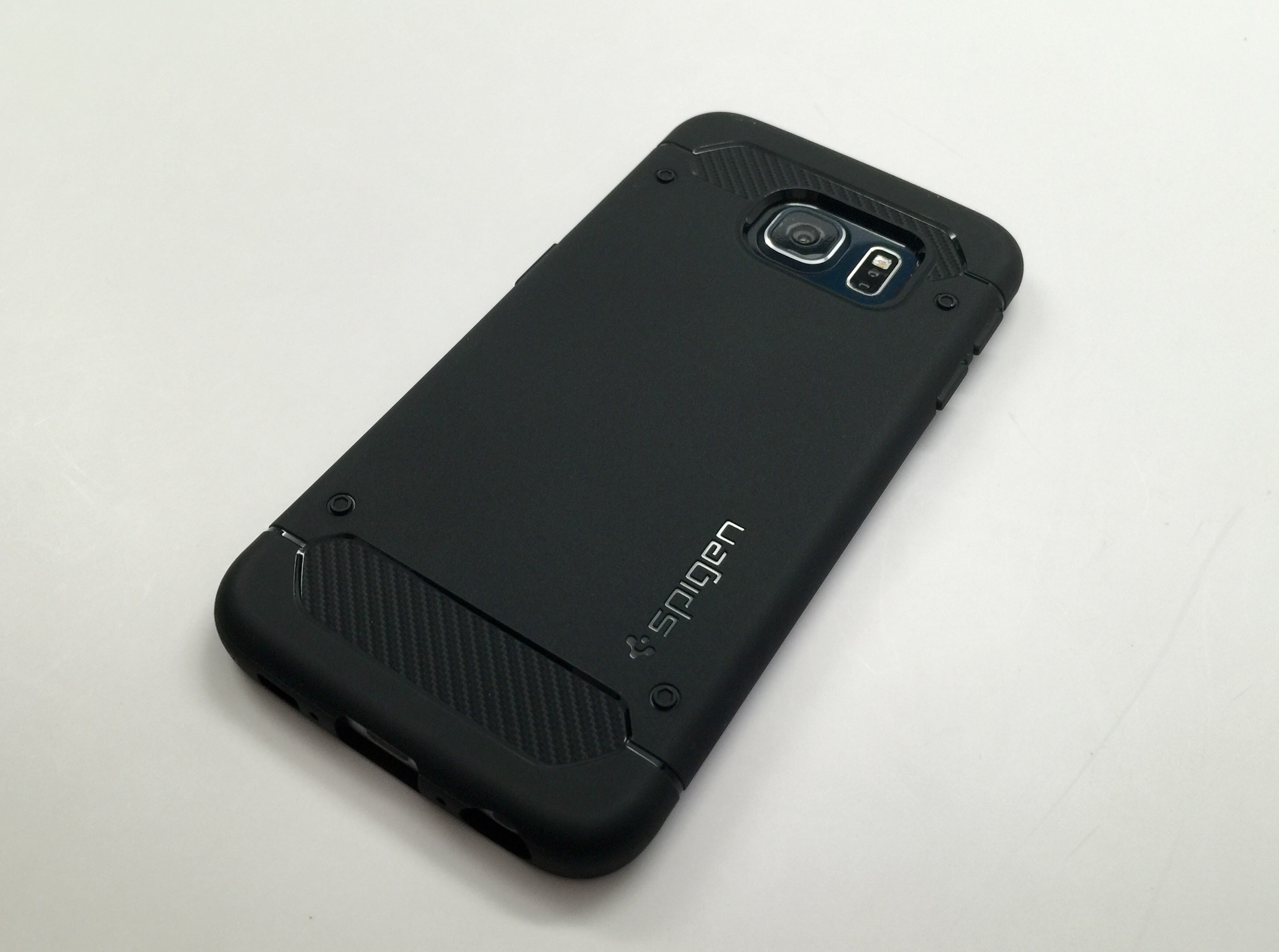 detailed look 30b18 77fb2 Spigen Capsule Ultra Rugged Galaxy S6 Edge Case Review