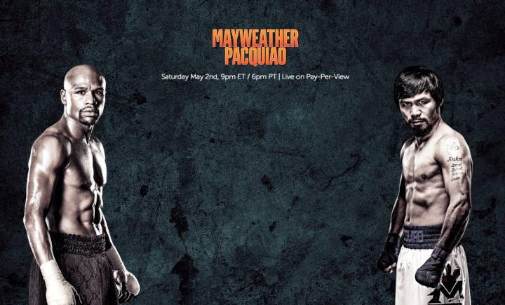 New options let you watch Mayweather vs Pacquiao free.