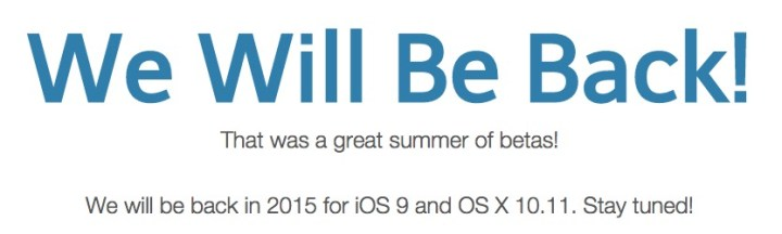 Count on an iOS 9 beta this summer.