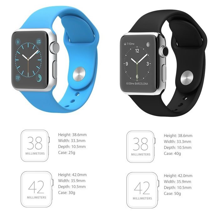 Apple Watch Sport is Lighter