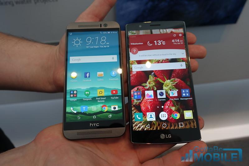 LG G4 vs HTC One M9: 5 Key Differences
