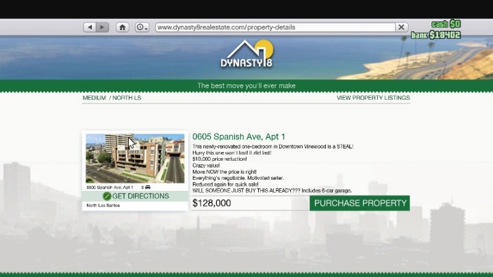 GTA online Houses and Condos (1)