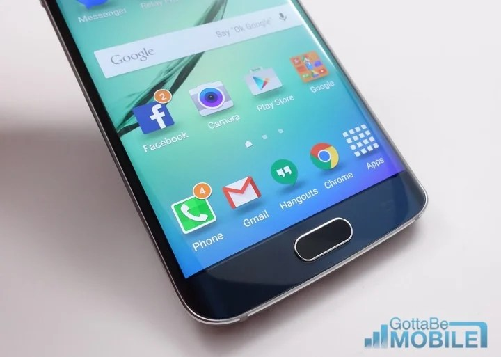 Update, uninstall and contact the developer to solve Galaxy S6 Edge app problems.
