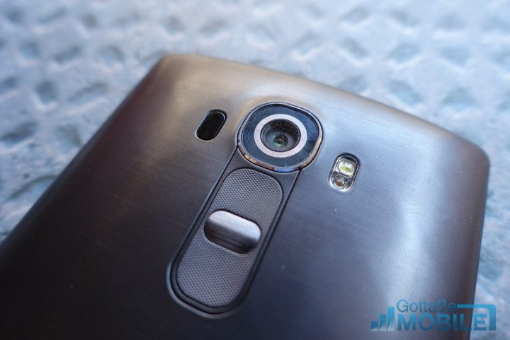 The LG G4 has buttons on the back