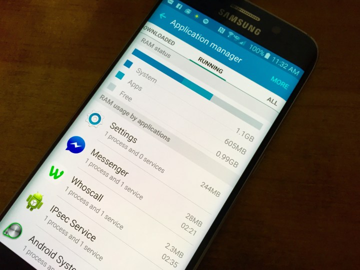 There is a confirmed Galaxy S6 and Galaxy S6 Edge problem with memory.