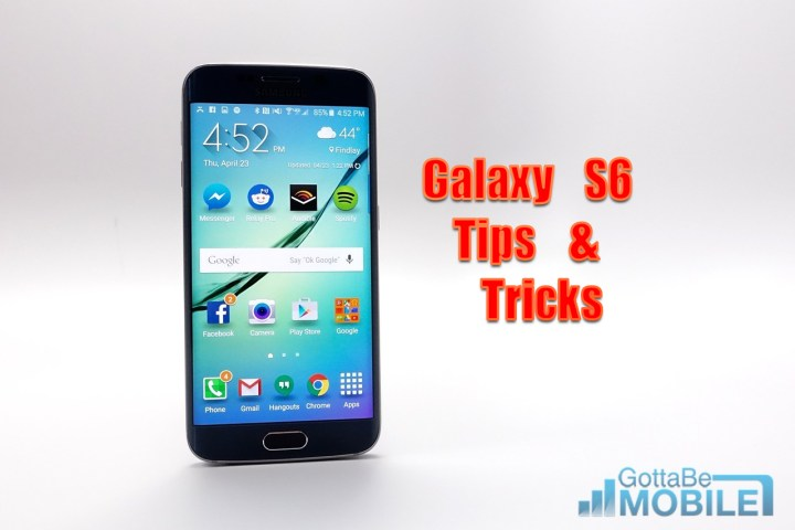 Read our Galaxy S6 tips and tricks to learn everything you need to know about using the Galaxy S6.