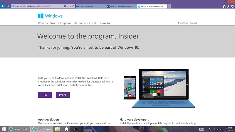 How to Get the Windows 10 Download