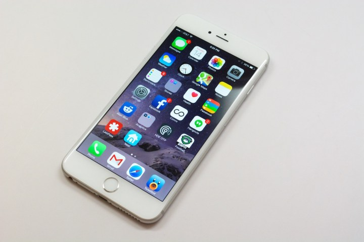 Sapphire iPhone 6s Plus Display