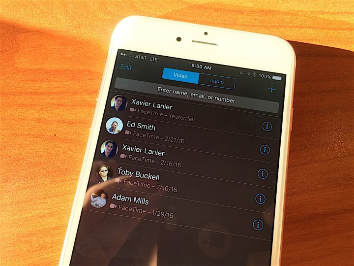 Apple makes communication with other iPhone users easier.