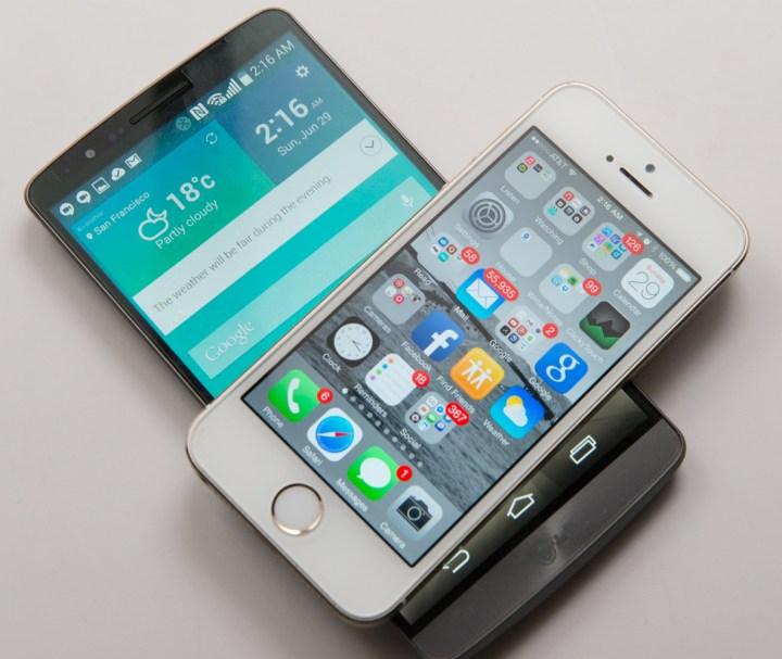 Bigger Displays Mean Bigger Phones
