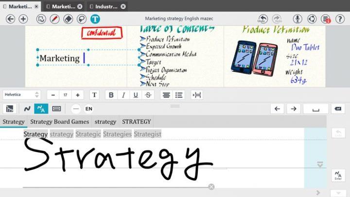 metamoji note input box