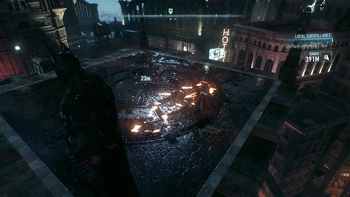 Check to make sure you redeemed any free upgrades that came with your copy of Arkham Knight.