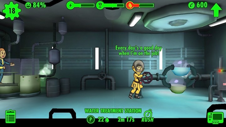 Make sure dwellers go in the right rooms.