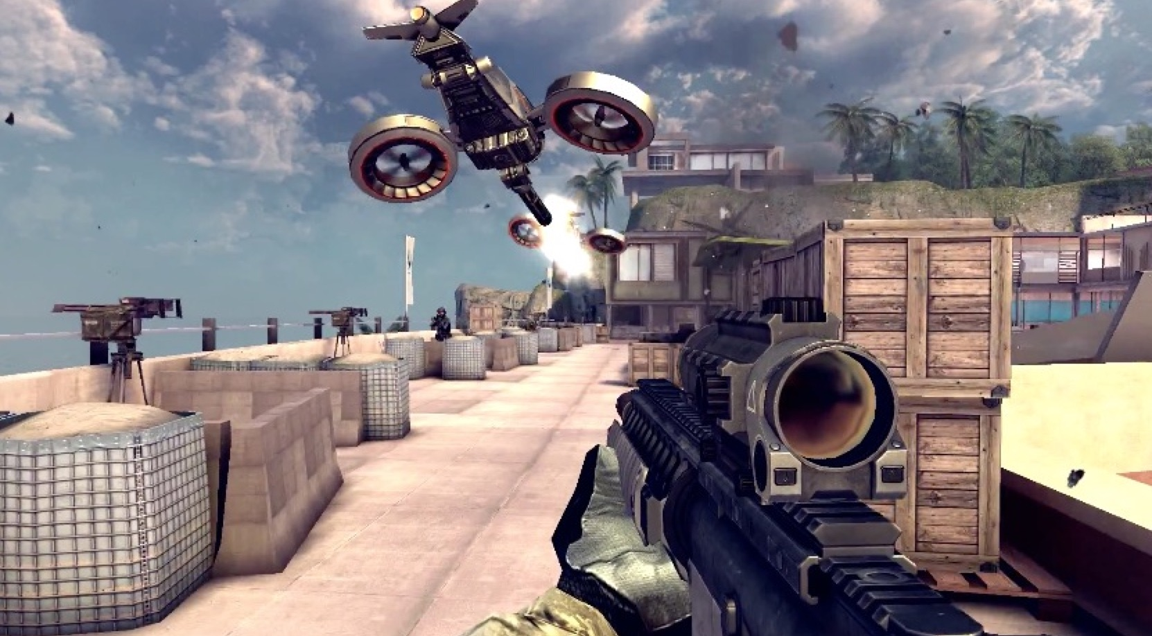 10 best first person shooter games for android
