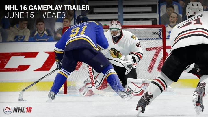 NHL 16 Gameplay Trailer