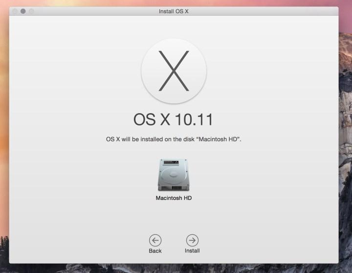 How to install the OS X El Capitan beta.