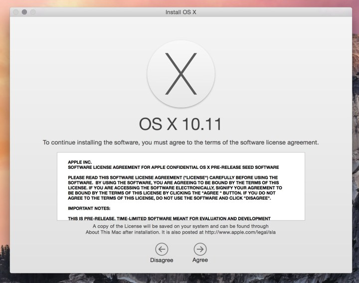 OS X El Capitan Beta Downloads Install Guide - 2
