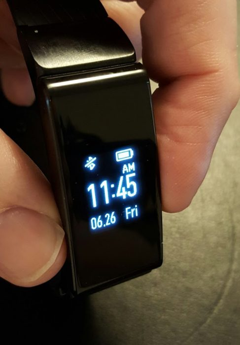 huawei talkband b2 display