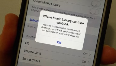 Learn how to fix the iCloud Music Library can't be enabled error.