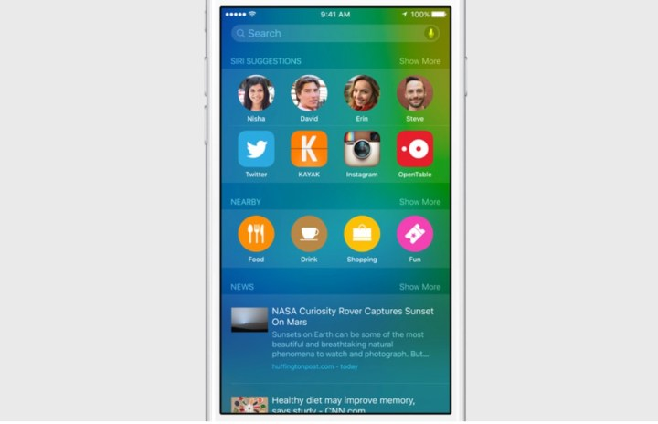 Join the iOS 9 beta to try out the new iOS 9 features.